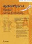 Applied Physics A -  Materials Science and Processing