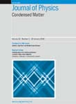 Journal of Physics-Condensed Matter