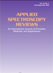 Applied Spectroscopy Reviews