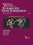 Critical ReviewsTM in Eukaryotic Gene Expression 